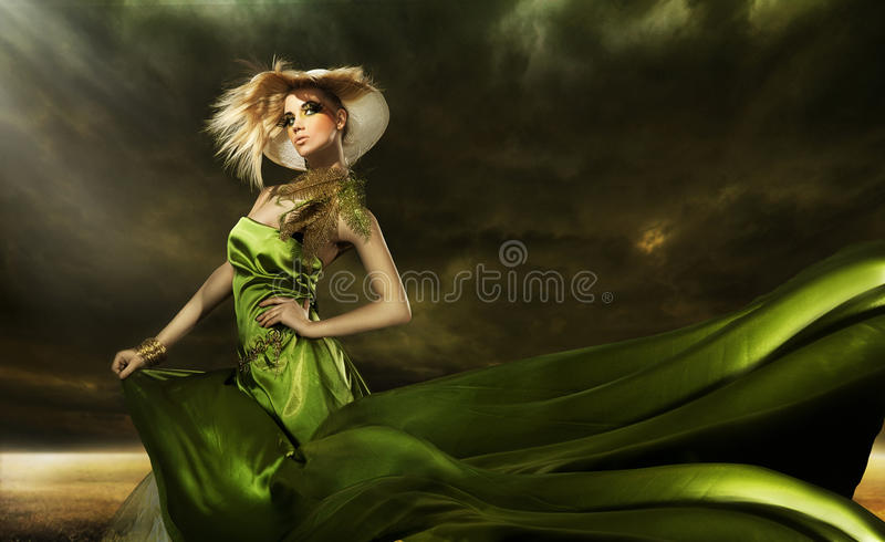 Stunning beauty royalty free stock photos