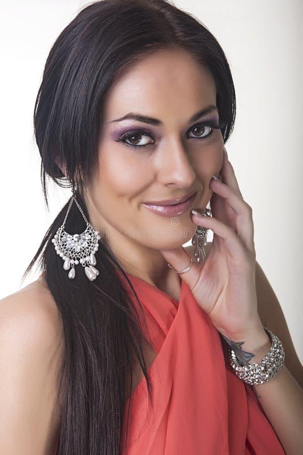 Stunning Female Glamour Model royalty free stock photography
