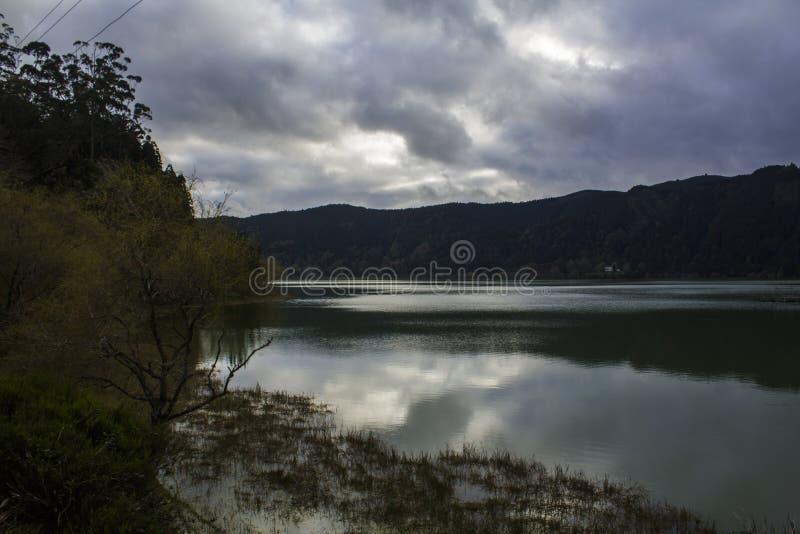 Stunning Lagoon landscape royalty free stock photography