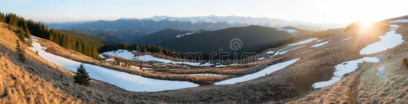 Stunning landscape of nature royalty free stock image