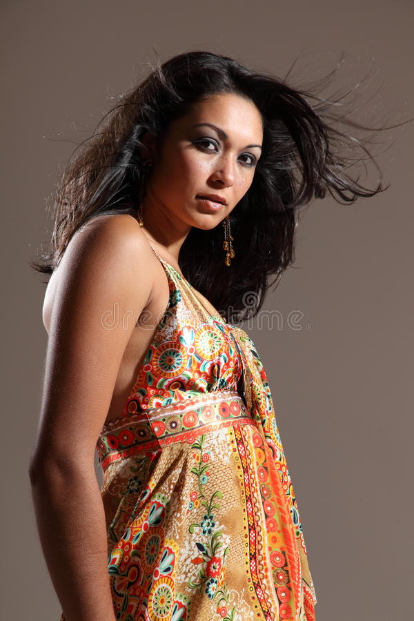 Download Stunning Model With Attitude To Camera Stock Image - Image: 16827451