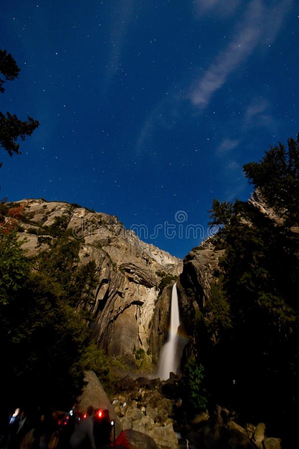 Stunning Moonbow stock photo