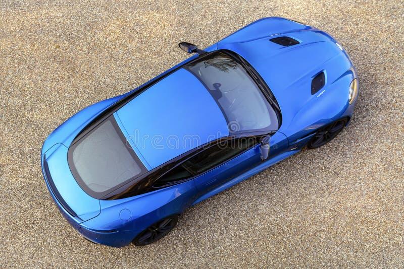 The Aston Martin DBS Superleggera ... stock photos
