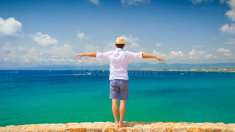 Stunning Salou resort stock photography