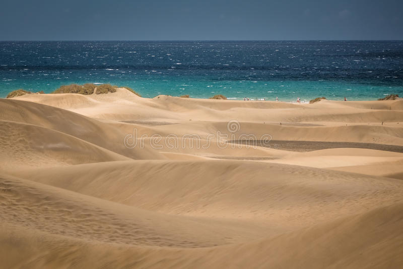Stunning sand dunes royalty free stock photos