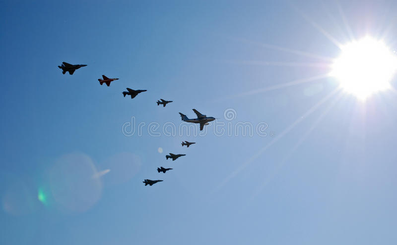 Download Stunt flying stock photo. Image of flying, spiral, plane - 24642486