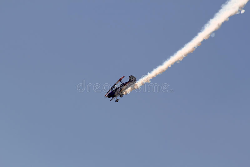 Download Stunt Plane editorial stock image. Image of aviation - 22567424