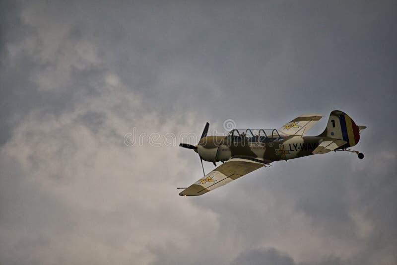 Stunt plane stock photos