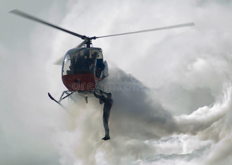 Stuntman stock fotografie