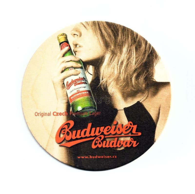 Stuoia della birra del sottobicchiere fotografie stock libere da diritti