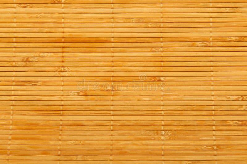 Stuoia di legno fotografia stock libera da diritti