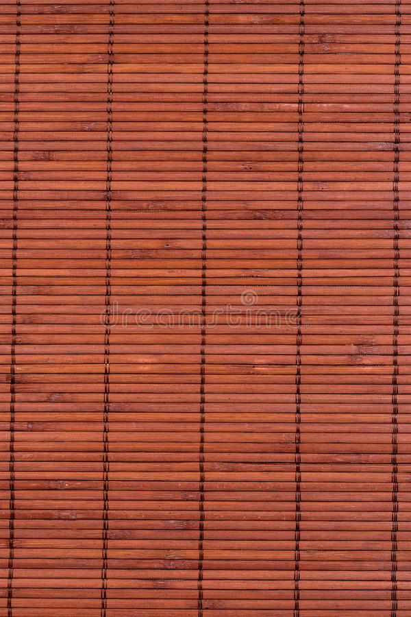 Stuoia Per La Cucina Fatta Di Bambù Sottile Fotografia Stock ...