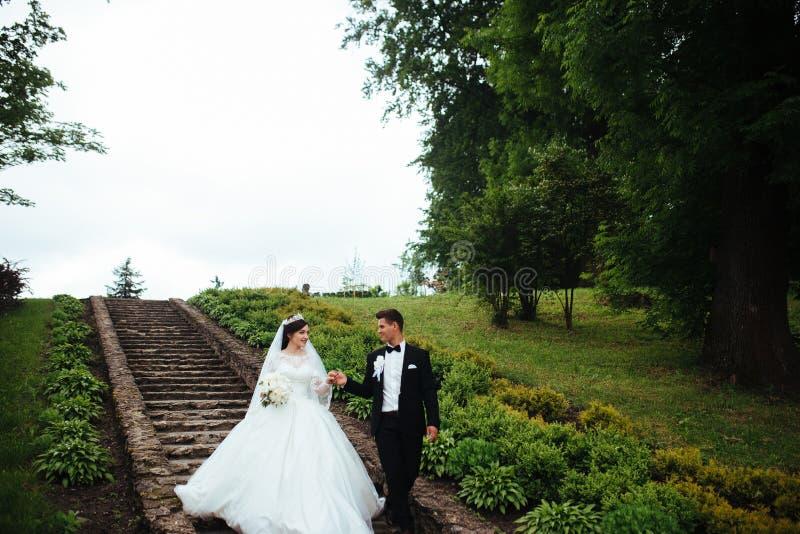 Stupéfier épousant des couples photo stock