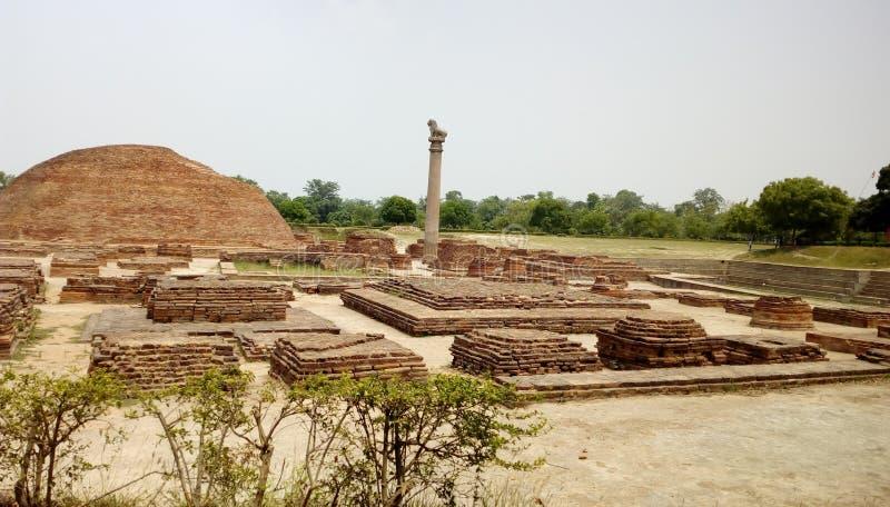 Stup shanti Vaishali стоковое изображение