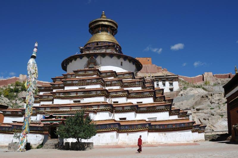 stupa藏语 免版税图库摄影