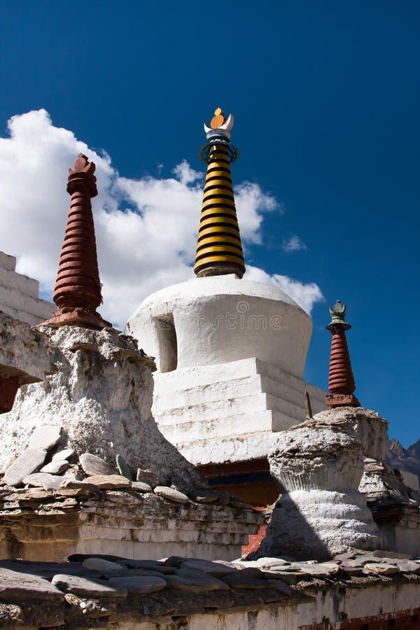 Stupa μοναστηριών Lamayuru, Ladakh, Ινδία στοκ φωτογραφίες με δικαίωμα ελεύθερης χρήσης