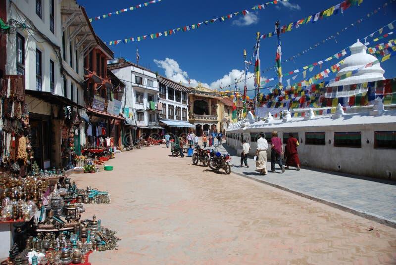 stupa του Κατμαντού Νεπάλ στοκ φωτογραφίες