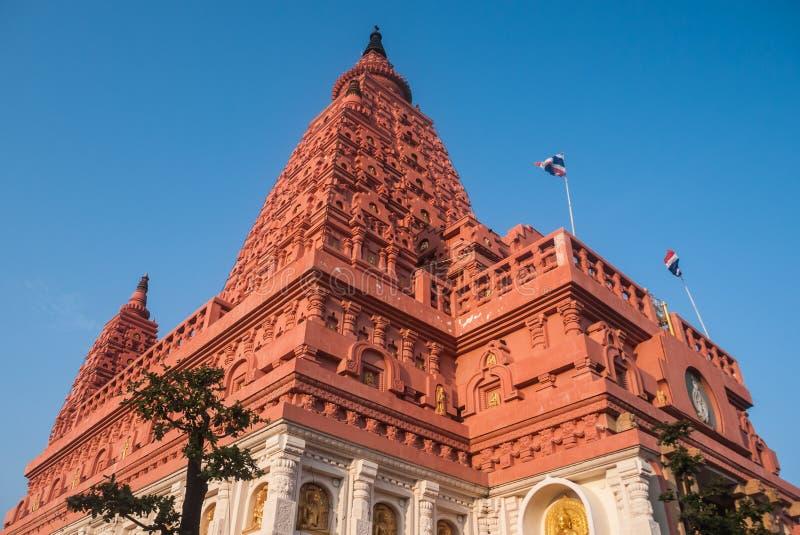 stupa Таиланд bodhgaya стоковые фотографии rf