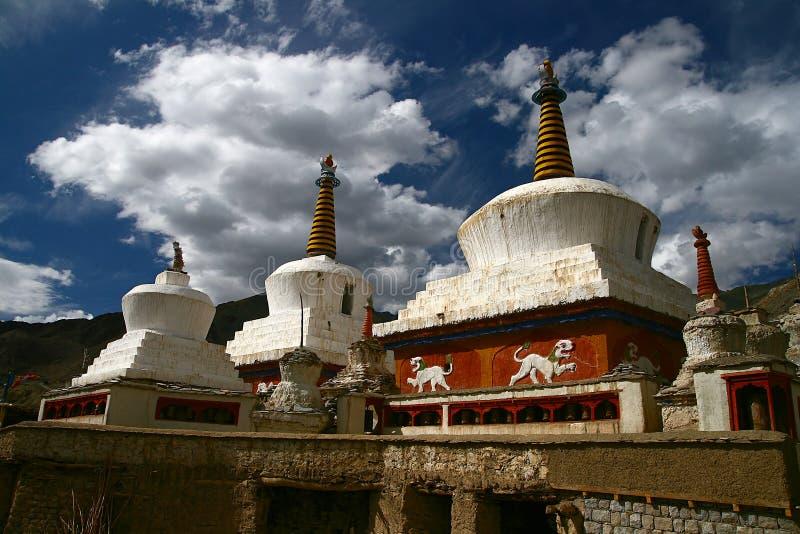 stupa 免版税图库摄影