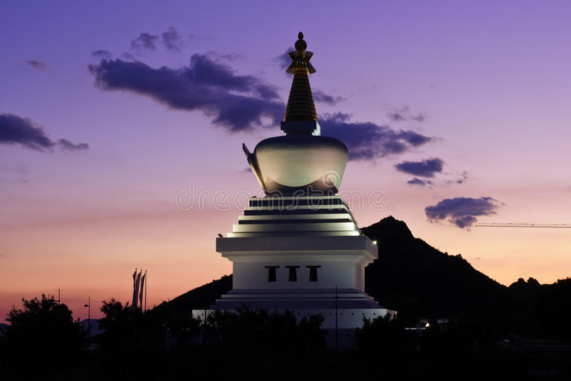 Stupa stockfotos