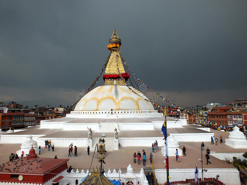 Stupa arkivfoto