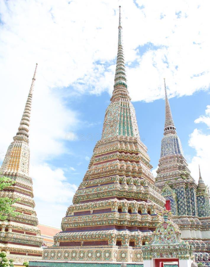 3 Stupa 免版税库存照片