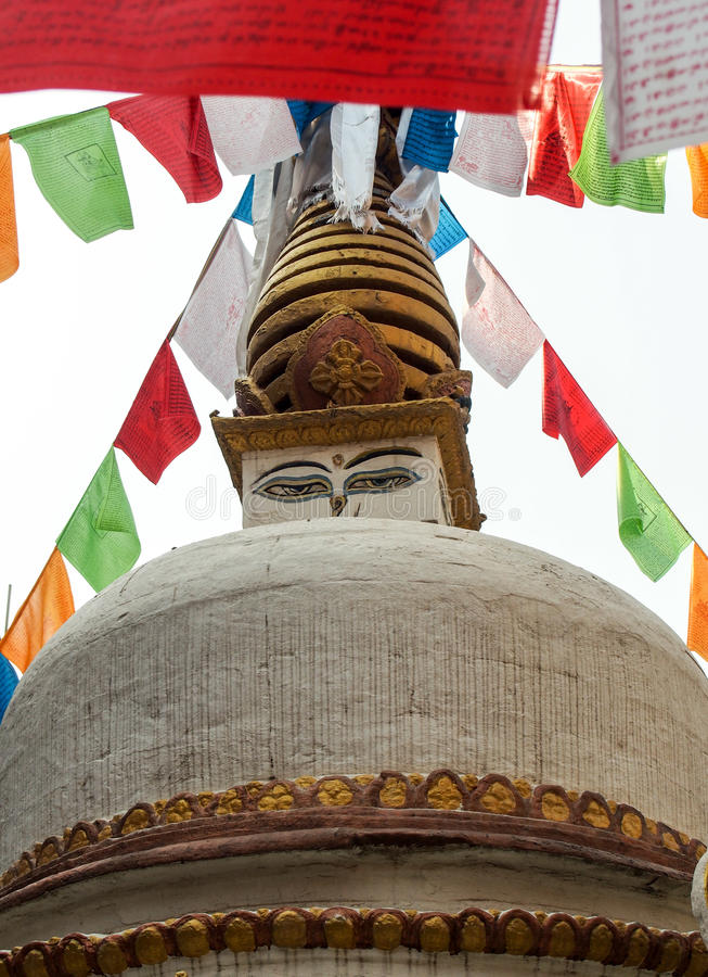 Stupa stock foto