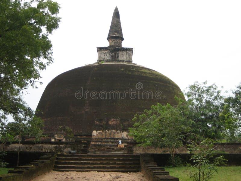 Stupa antigo fotografia de stock