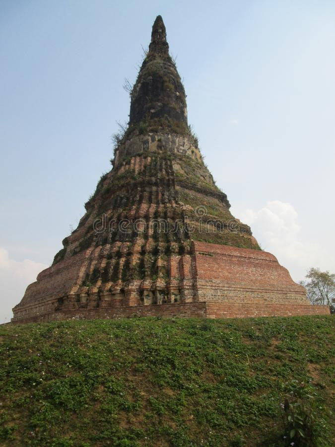 Stupa antigo do século XVI em Xieng Khouang, Laos foto de stock