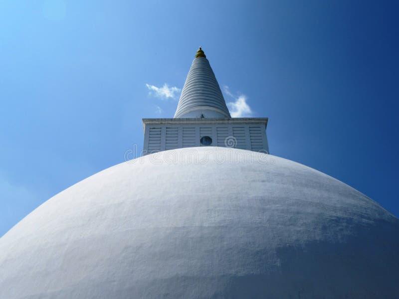 Stupa in Anuradhapura in Sri Lanka stock photo