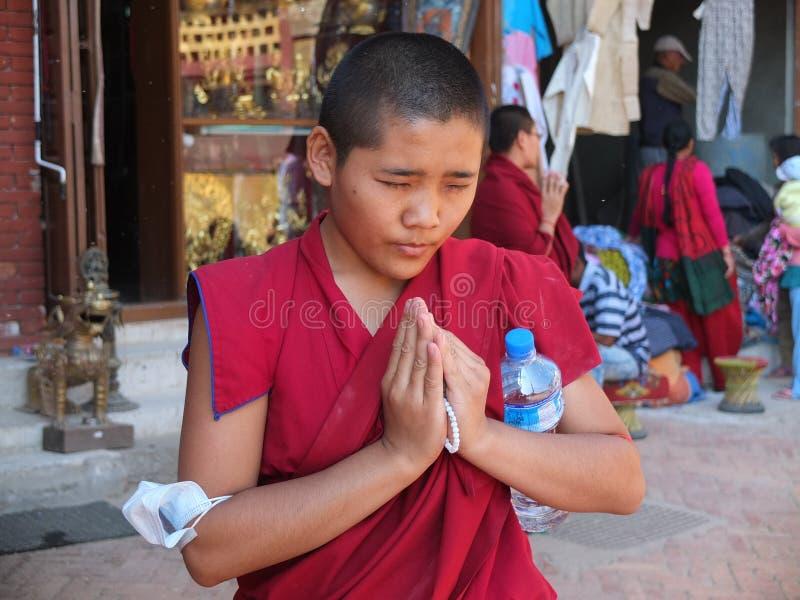 Stupa Bodnath, Nepal obraz royalty free