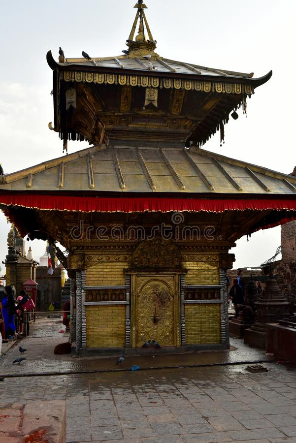 Stupa Buddanath, Νεπάλ στοκ εικόνες