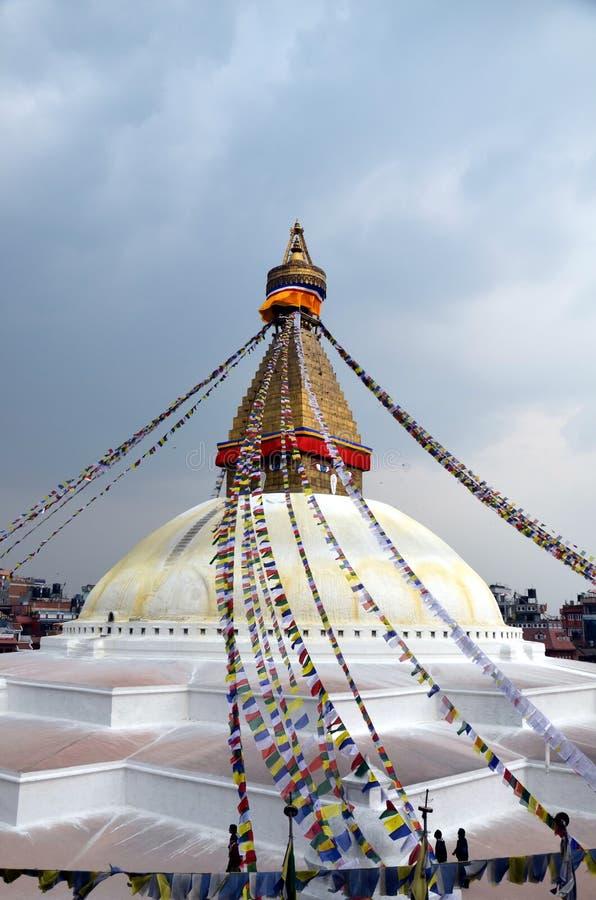Stupa Buddanath стоковая фотография rf