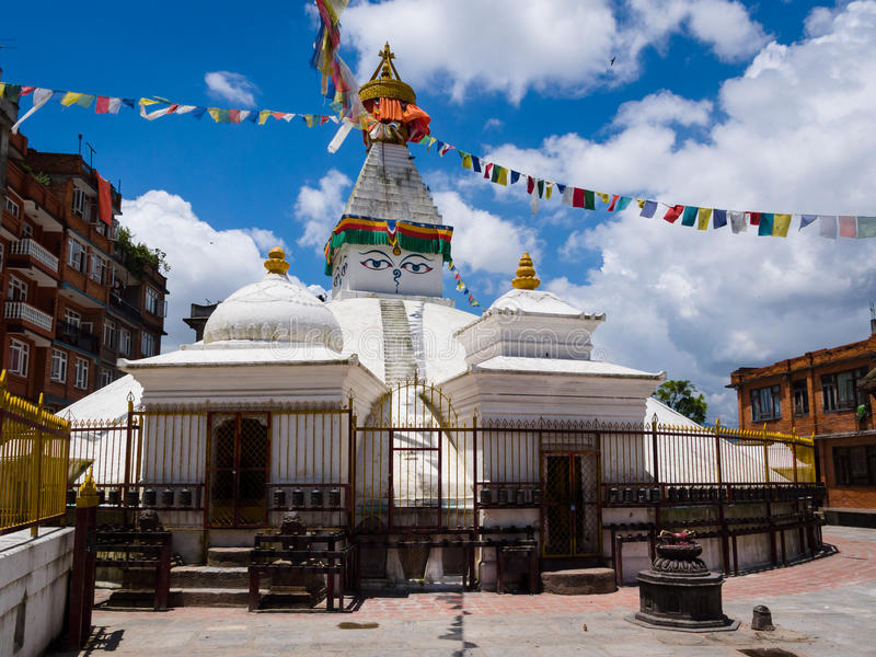 Stupa buddista fotografia stock