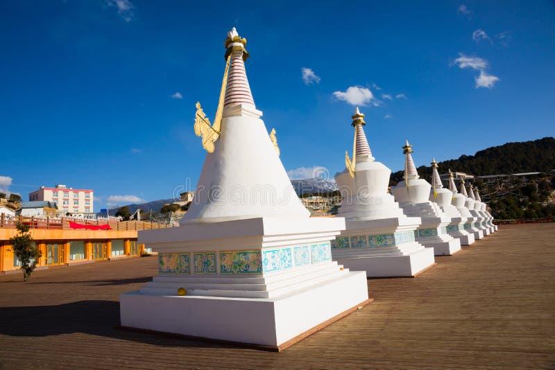 Stupa budista foto de stock