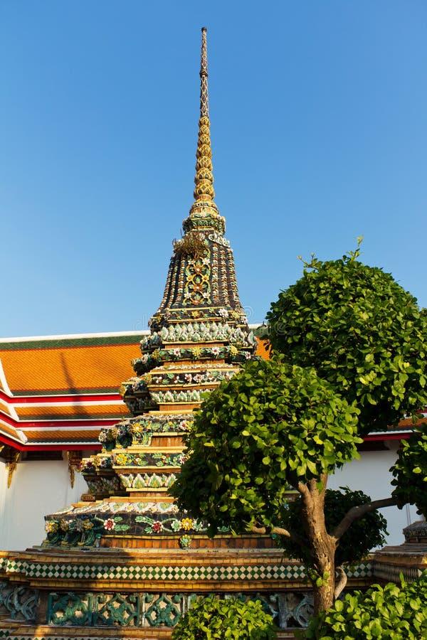 Stupa chez Wat Pho, Bangkok photographie stock