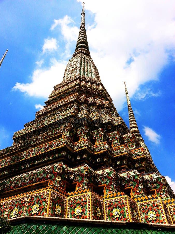 Stupa chez Wat Pho, Thaïlande image stock
