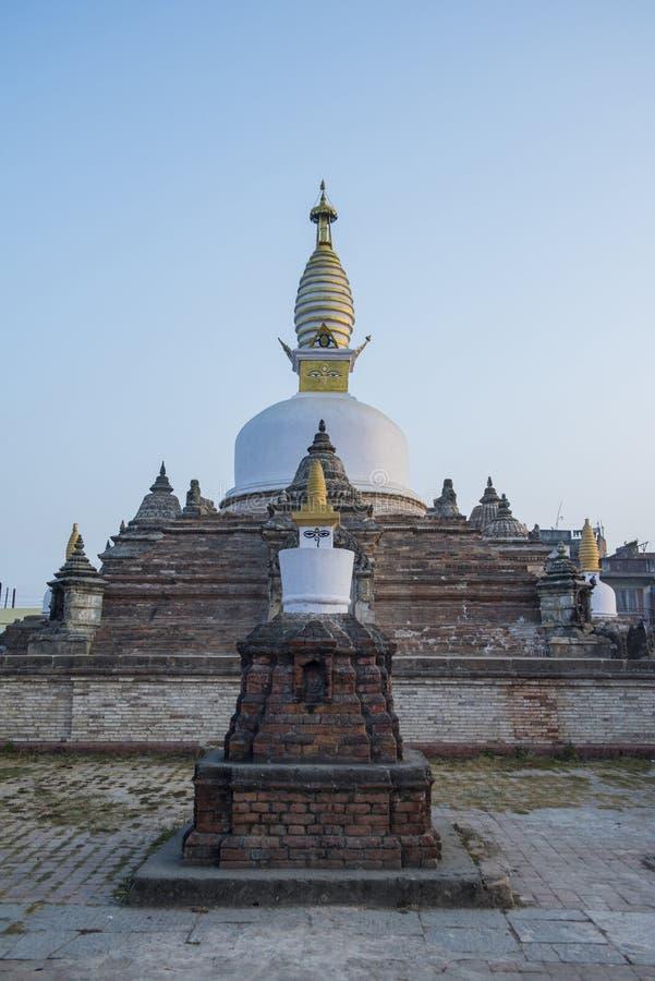 Stupa Chilancho σε Kirtipur στοκ φωτογραφία