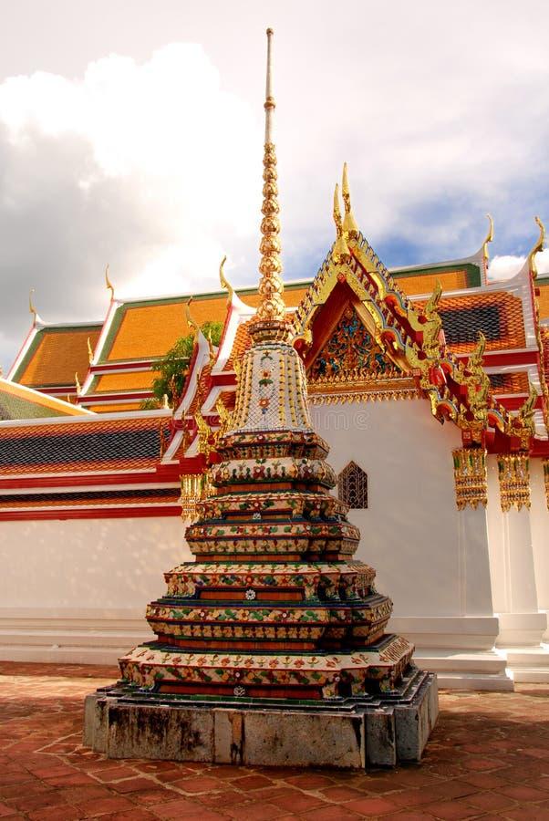 Stupa dans Wat Pho image libre de droits