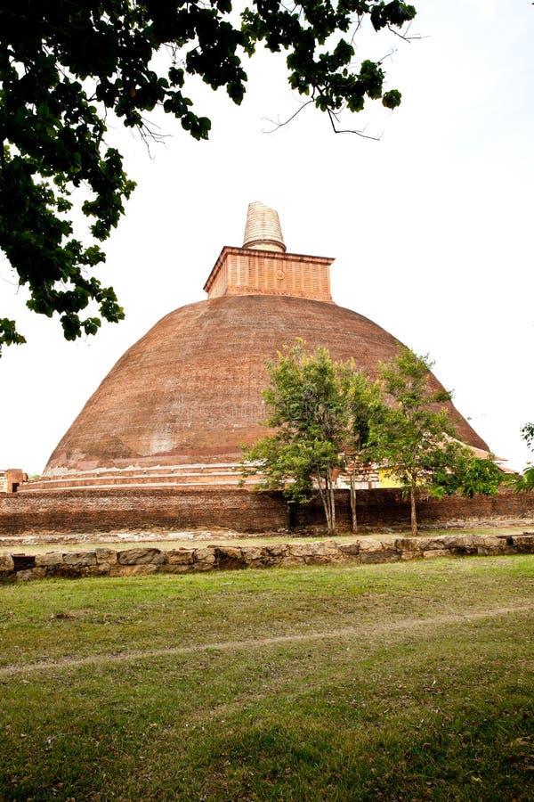 Stupa de Jetavana, anuradhapura, Sri Lanka fotos de archivo libres de regalías