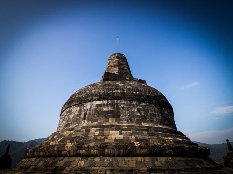 Stupa do borobudur foto de stock