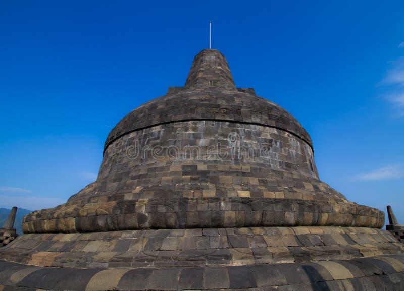 Stupa do borobudur fotos de stock royalty free