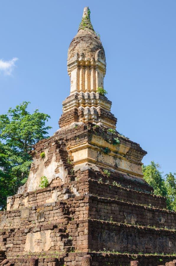 Stupa do estilo de Sukhothai fotografia de stock royalty free
