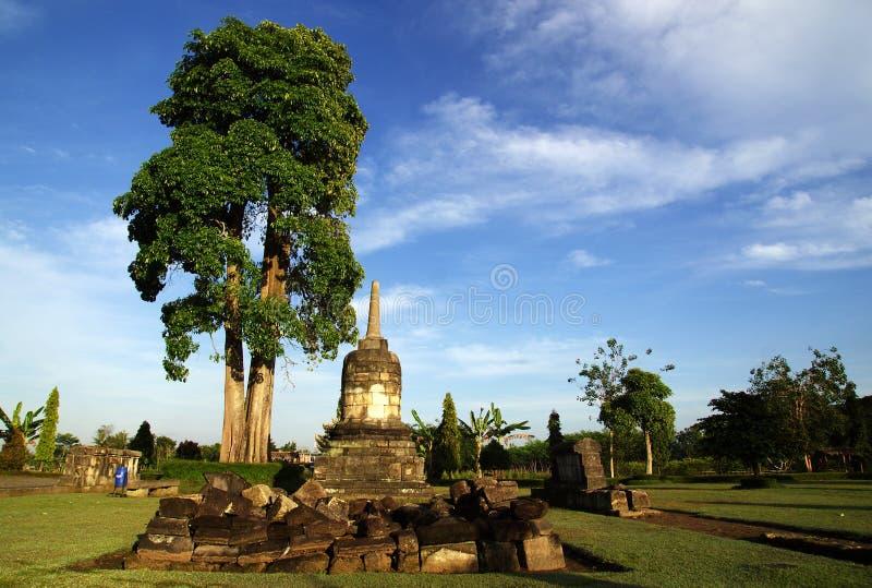 Stupa en el templo de Sojiwan imagenes de archivo