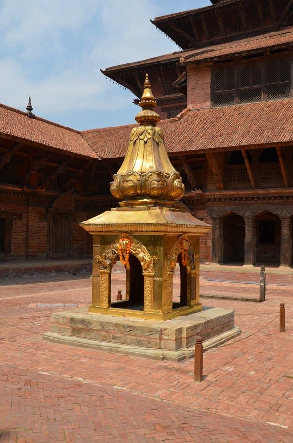 Stupa hindú antiguo fotografía de archivo