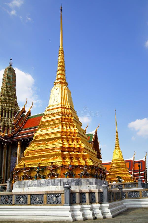 Free Stupa In Wat Phra Kaeo Royalty Free Stock Image - 12558856