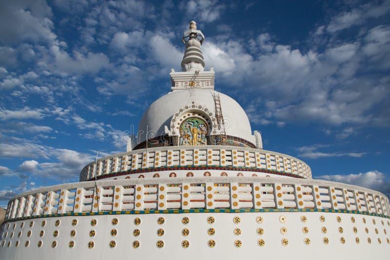Stupa in Leh royalty free stock image
