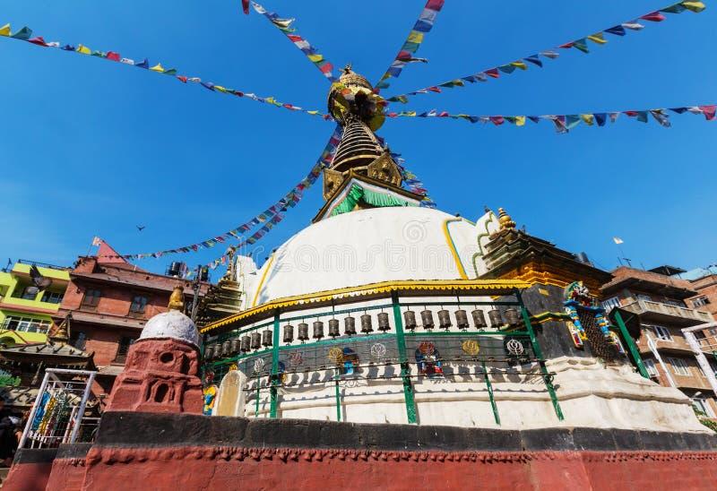 Stupa nel Nepal fotografia stock