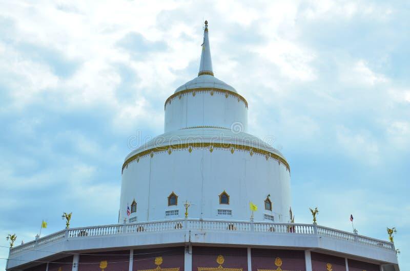 Stupa at Phraya Suren temple stock image