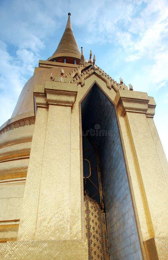 Stupa tailandés fotografía de archivo